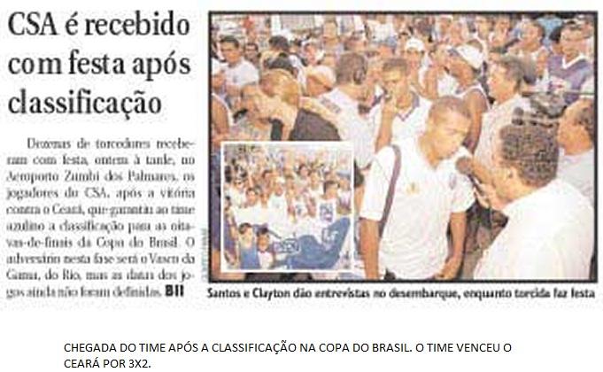 Ceará 2x3 CSA - Copa do Brasil 2002²