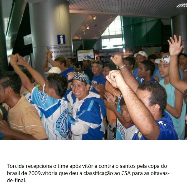 Chegada do time após Santos 0x1 CSA