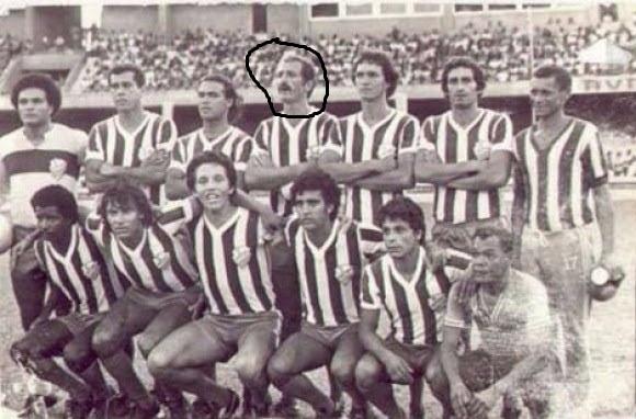 Felipão jogando pelo CSA em 1981